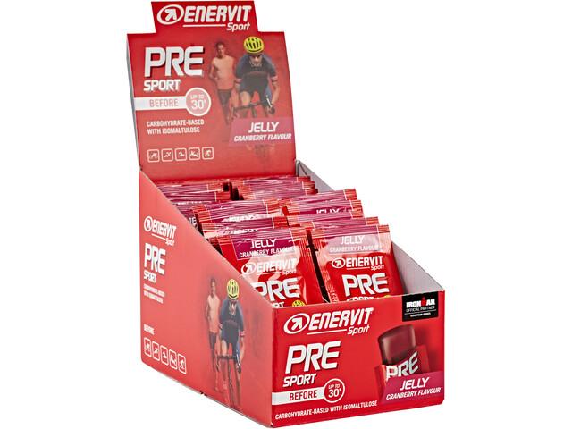 Enervit Sport Pre Sport Sacoche 20x45g, Cranberry